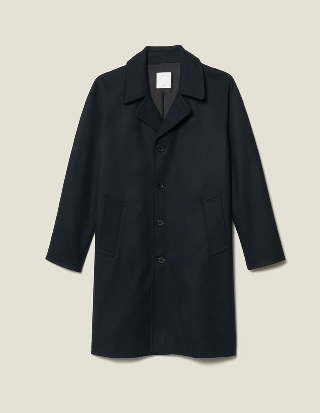 Oversized Town Coat : Trench coats & Coats color Navy Blue