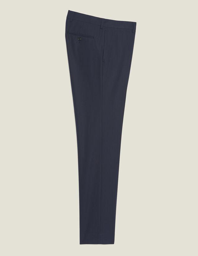 Cotton Suit Trousers : Sélection Last Chance color Ink