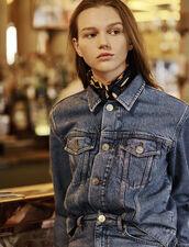Masculine Fit Denim Jacket : All Selection color Blue Vintage - Denim