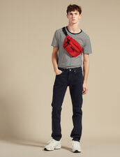 Narrow Cut Jeans : Jeans color Indigo