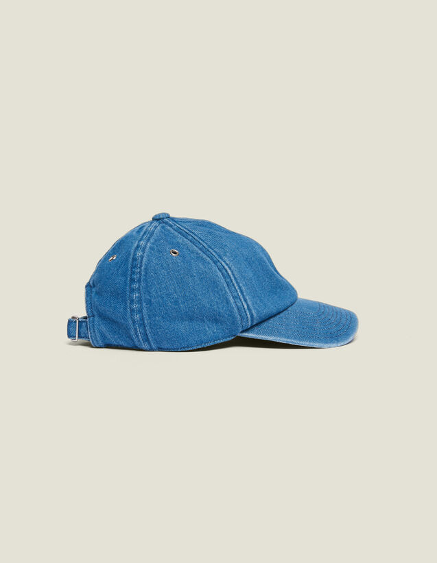 Faded Denim Cap : Sélection Last Chance color Blue