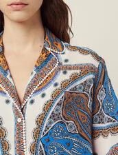 Printed Pyjama Shirt : All Selection color Multi-Color