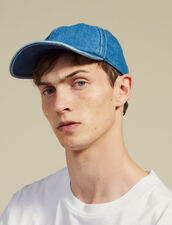 Faded Denim Cap : All Selection color Blue