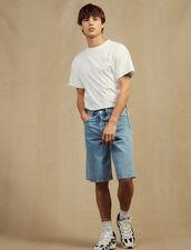 Denim Bermuda Shorts : All Selection color Blue Vintage - Denim