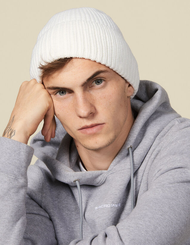 Beanie with turn-up cuff : LastChance-IT-H50 color Olive Green