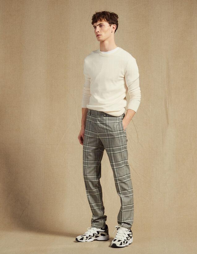 Classic Suit Trousers : Suits & Tuxedos color Grey