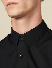 Non-iron shirt : Shirts color Navy Blue